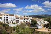 Historic Housing Prints - Ronda Town in Spain Print by Artur Bogacki
