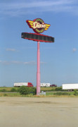 Stop Sign Photos - Route 66 - Dixie Truckers Home by Frank Romeo