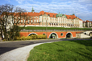 Polish Culture Prints - Royal Castle in Warsaw Print by Artur Bogacki