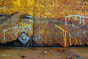 Grafitti Prints - Rust Colors Print by Carlos Caetano