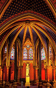 Christian Sacred Metal Prints - Sainte Chapelle Metal Print by Brian Jannsen
