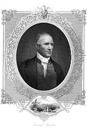 Statesman Framed Prints - Sam Houston (1793-1863) Framed Print by Granger