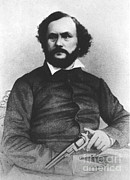 Samuel Photo Framed Prints - Samuel Colt, American Inventor Framed Print by Science Source