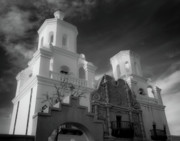 Religious Prints Photo Originals - San Xavier Mission by Jim Harris