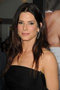 Sandra Bullock Framed Prints - Sandra Bullock At Arrivals For The Framed Print by Everett