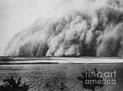 Sand Storm Prints - Sandstorm, Sudan, 1906 Print by Science Source