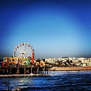 Instaprints Art - Santa Monica by Luisa Azzolini