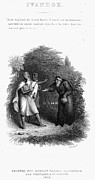 Scott: Ivanhoe, 1832 Print by Granger