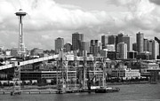 Space Needle Photographs Prints - Seattle Water Front Print by William Jones