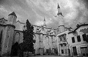 Cumhuriyeti Prints - Selimiye mosque formerly saint sophia cathedral nicosia lefkosia TRNC turkish cyprus Print by Joe Fox