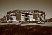 New York Mets Stadium Prints - Shea Stadium - New York Mets Print by Frank Romeo