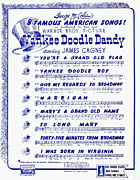 Yankee Doodle Dandy Prints - Sheet Music Cover, 1942 Print by Granger