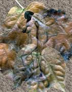 Lovers Digital Art - Sheltered by Kurt Van Wagner