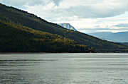 Mountain Scene Photo Prints - Shuswap Lake British Columbia Print by Jayne Logan Intveld