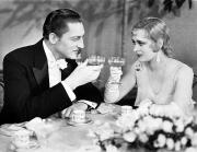 Brooch Prints - Silent Film Still: Drinking Print by Granger