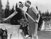 Kissing Photos - Silent Film Still: Kissing by Granger