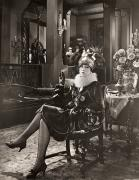 The Sewing Room Photos - Silent Film Still: Smoking by Granger