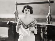 Handkerchief Prints - Silent Film Still: Woman Print by Granger