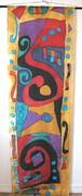 Silk Banner Print by Yvonne Feavearyear