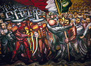 Diaz Photos - SIQUEIROS: MURAL, 1950s by Granger