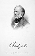 Autograph Framed Prints - Sir Charles Lyell Framed Print by Granger