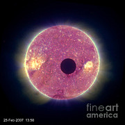 Stereo Prints - Solar Eclipse Print by Nasa