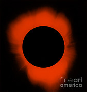 Solar Eclipse Prints - Solar Eclipse Print by Science Source