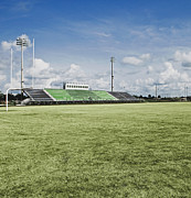 High School Sports Prints - Sports Field Print by Skip Nall