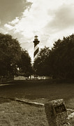 Famous Lighthouses Posters - St. Augustine Lighthouse Poster by Skip Willits