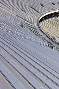 Arena Prints - Stadium Bleachers Print by Jeremy Woodhouse