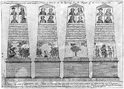 Colonial Man Framed Prints - Stamp Act Repeal, 1766 Framed Print by Granger