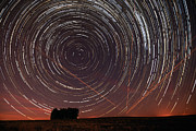Alentejo Posters - Star Trail in Alentejo Poster by Andre Goncalves