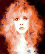 Stevie Nicks Framed Prints - Stevie Nicks Framed Print by Brian Tones