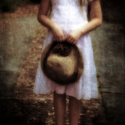 Child Photos - Straw Hat by Joana Kruse