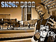 Shady Street Posters - Street Phenomenon Snoop Dogg Poster by The DigArtisT