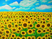 Preethy PS - Sunflower field