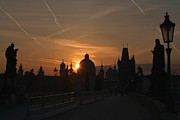 Karluv Most Prints - Sunrise Charles Bridge Print by Serena Bowles