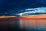 Shorelines Photos - Sunset by Gert Lavsen