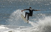 Athlete Prints Photos - Surfing 415 by Joyce StJames