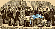 Pre-19th Prints - Surgery Without Anesthesia, Pre-1840s Print by Science Source