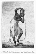 Chained Prints - Surinam: Punishment, 1796 Print by Granger