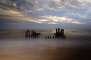 Groyne Framed Prints - Sylt Framed Print by Joana Kruse