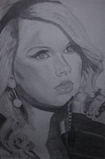 Taylor Swift Art - Taylor Swift Artwork by Richie Wentworth