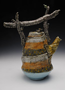Coffee Ceramics - Teapot by Mark Chuck