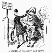 Teddy Roosevelt Cartoon Print by Granger