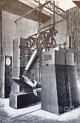 Nineteenth Century Art - Telescope, Paris Expo, 1900 by Science Source