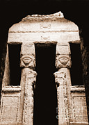 Temple Of Hathor Metal Prints - Temple Of Hathor Metal Print by Photo Researchers, Inc.