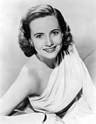 Bare Shoulder Framed Prints - Teresa Wright, 1945 Framed Print by Everett