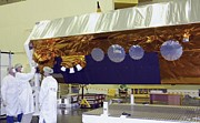 Aperture Prints - Terrasar-x Satellite Launch Preparations Print by Ria Novosti
