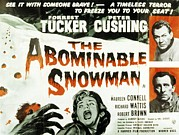 Horror Movies Art - The Abominable Snowman, Aka The by Everett